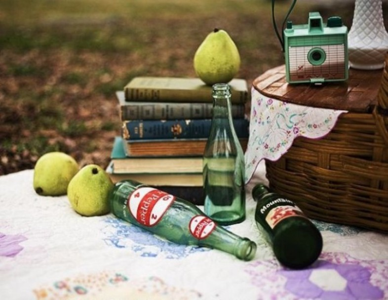 oldschool picnic inspiration
