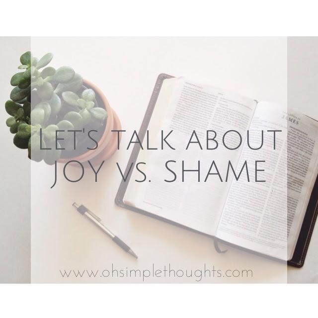 joy vs. shame