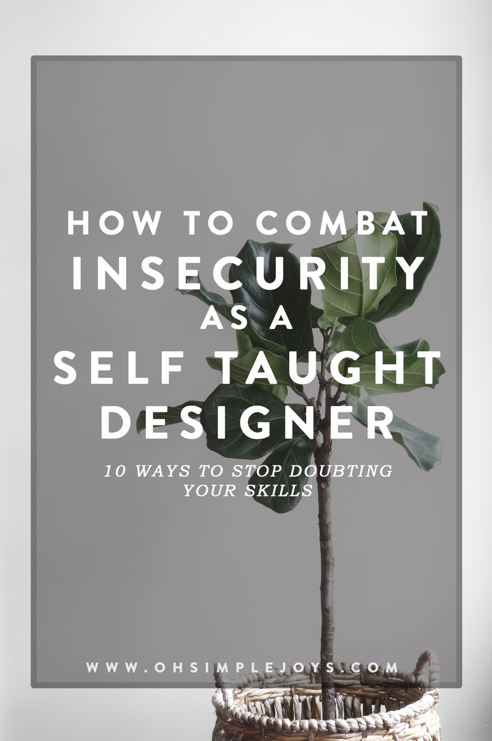 Being a self taught anything can be hard sometimes. Fighting feelings of insecurity and impostor syndrome are not fun. Here are 10 ways to fight those feelings and win.