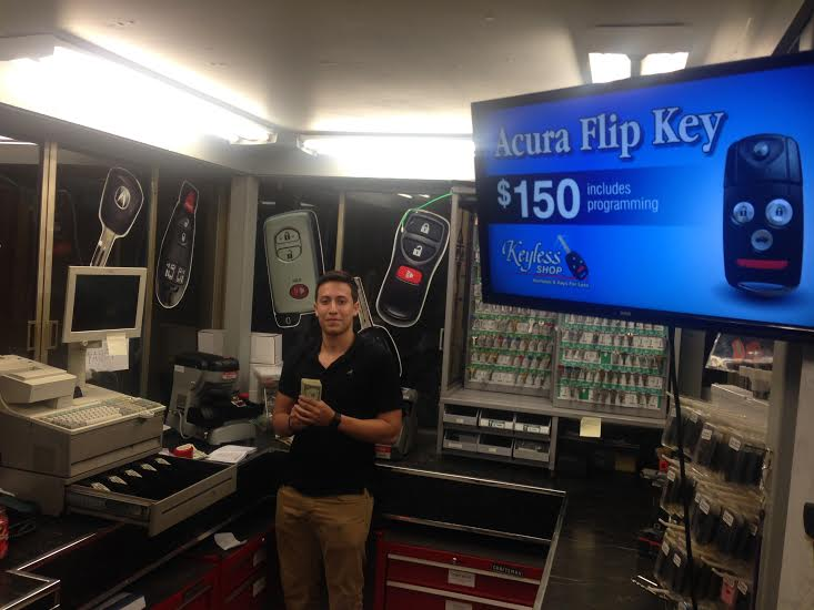 The Keyless Shop in Hackensack, NJ.      https://www.facebook.com/KeylessShopNJ/
