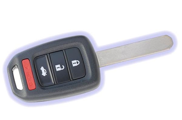 Honda accord key programming
