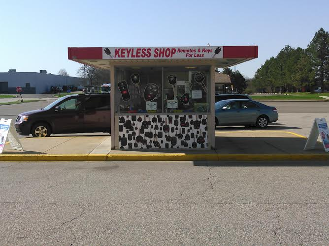 The Keyless Shop at Sears Akron now moved but still at The Chapel Hill Mall.  The automotive locksmiths Akron trusts.