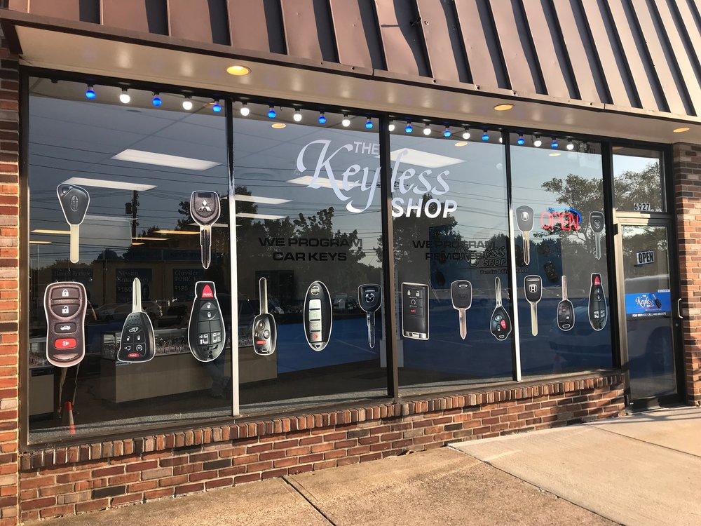 El Keyless Shop en Cleveland, OH. Copia de llaves de Toyota, llaves de Honda, llaves de Nissan.