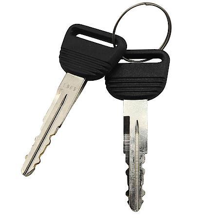 Early model Honda keys no chip.