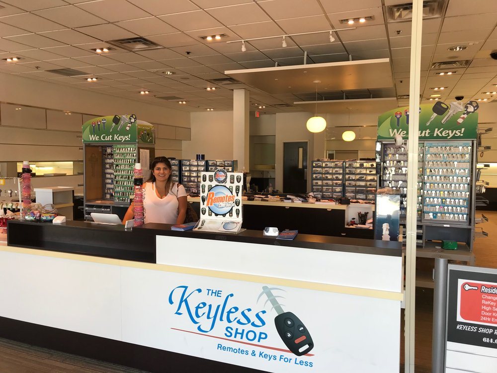 The Keyless Shop locksmith shop new location at Eastland Mall.