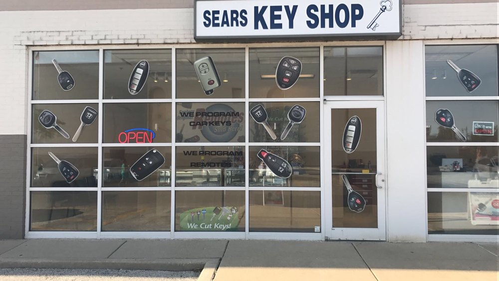 Sears Key Shop operated by The Keyless Shop.
