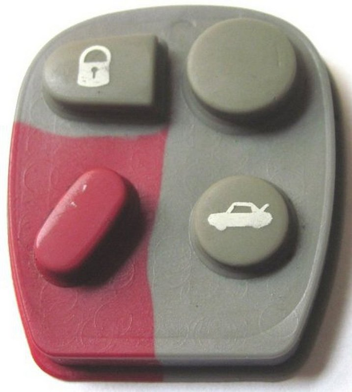 GM remote button pad worn out. Call now to order your replacement pad.