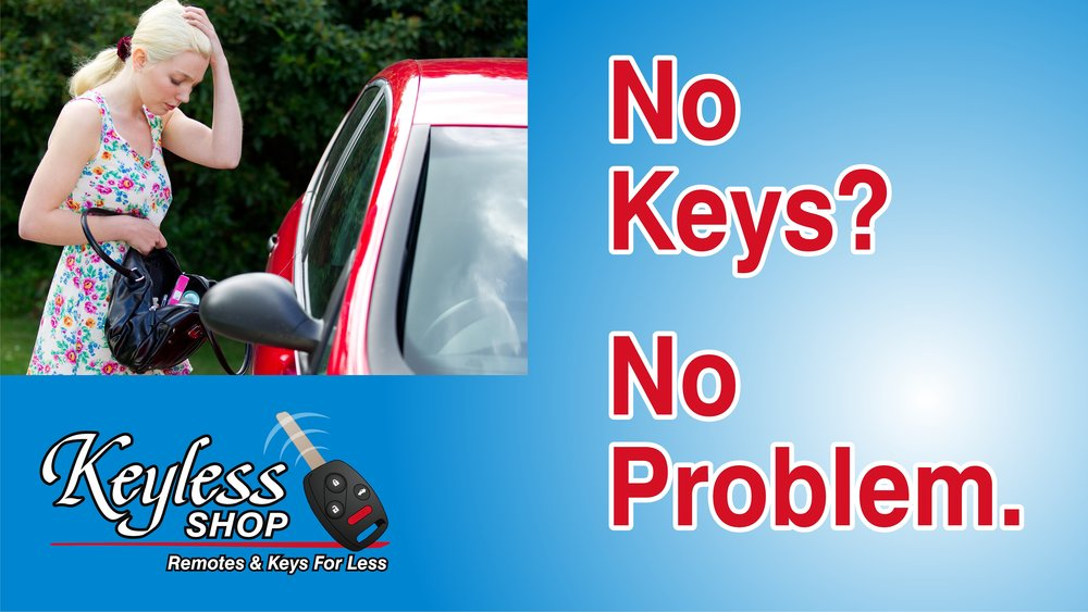 No Keys, No Problem. AAA members tow your car for free to any Keyless Shop location. We can also come to you for an additional $100.