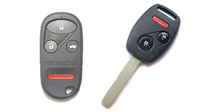 These are the types of Honda remotes this programming procedure works for. If your Honda remote looks different than the these pics it will not work.
