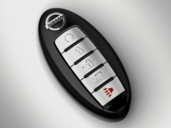 Nissan Smart key for a 2015 Nissan Altima with remote start function.  These nissan smart keys are push to start vehicles which must be programmed by the Nissan Dealer or your local Keyless Shop locksmith.