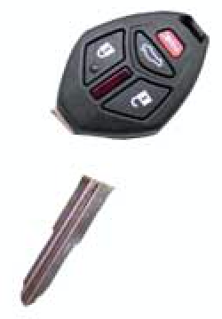 Repair And Fix Broken Mitsubishi Remote Key The Keyless Shop At Sears