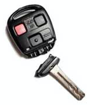 Repair Fix Broken Lexus Remote Key By Vin The Keyless Shop At Sears