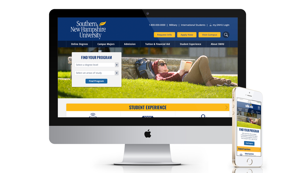 Southern New Hampshire University Responsive Web Design