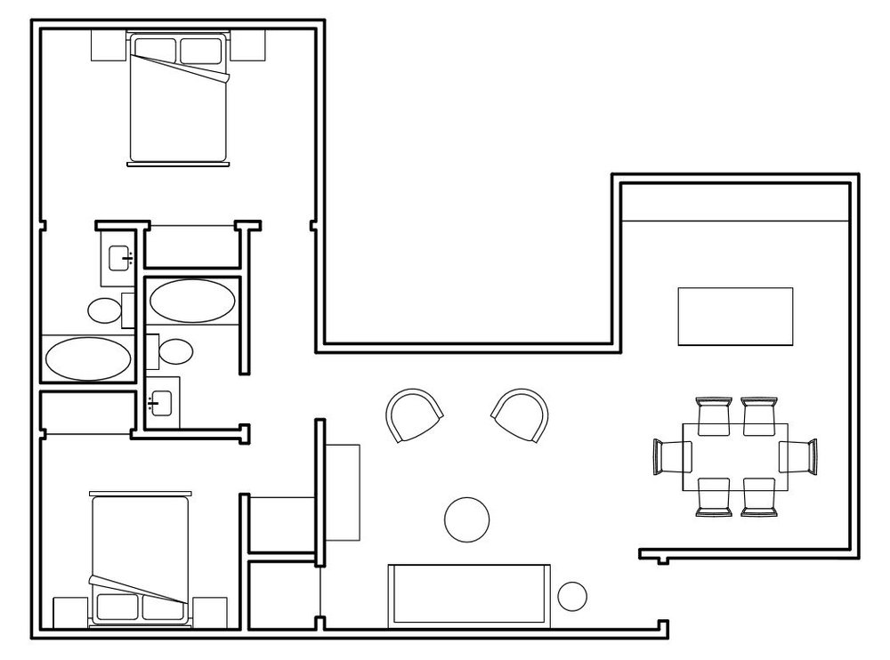 1000 square foot plan