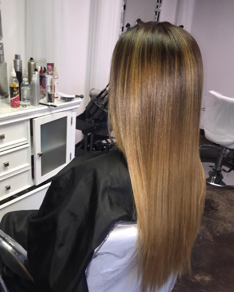 Balayage | Highlight (clients own hair)