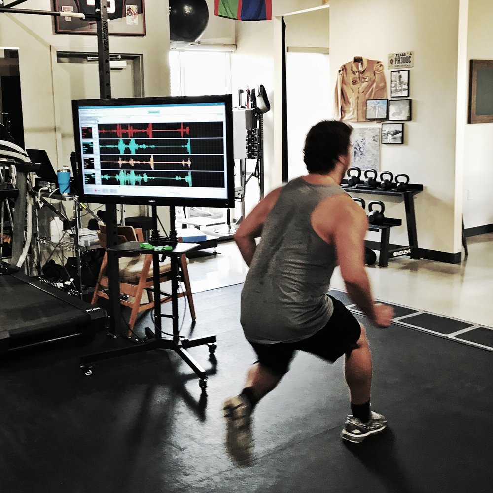 Dynamic movements require spot-on firing sequences. Come in and see where you stack up.