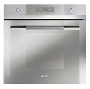 RRP $2,690.00,    SALE $1,399   SMEG- SA112-8,  600mm electric, nine function oven with Vapour Clean, thermoseal.