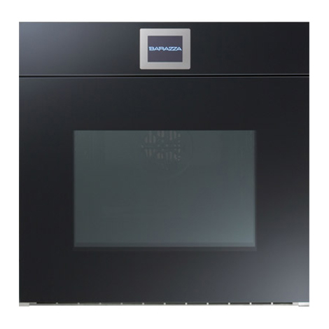 RRP $3,399.00,    SALE $999.00   Barazza- VTLB  600mm electric, colour touch screen multi-function oven with catalytic liners