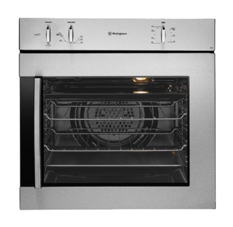 RRP $1,119.00,    SALE $979.00   Westinghouse- PORS663S-R  600mm electric multifunction oven with RHH side opening door