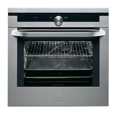 RRP $4,529.00,    SALE $2499.00   AEG B9978-5m  600mm multi-function, auto sensing oven with pyrolytic cleaning