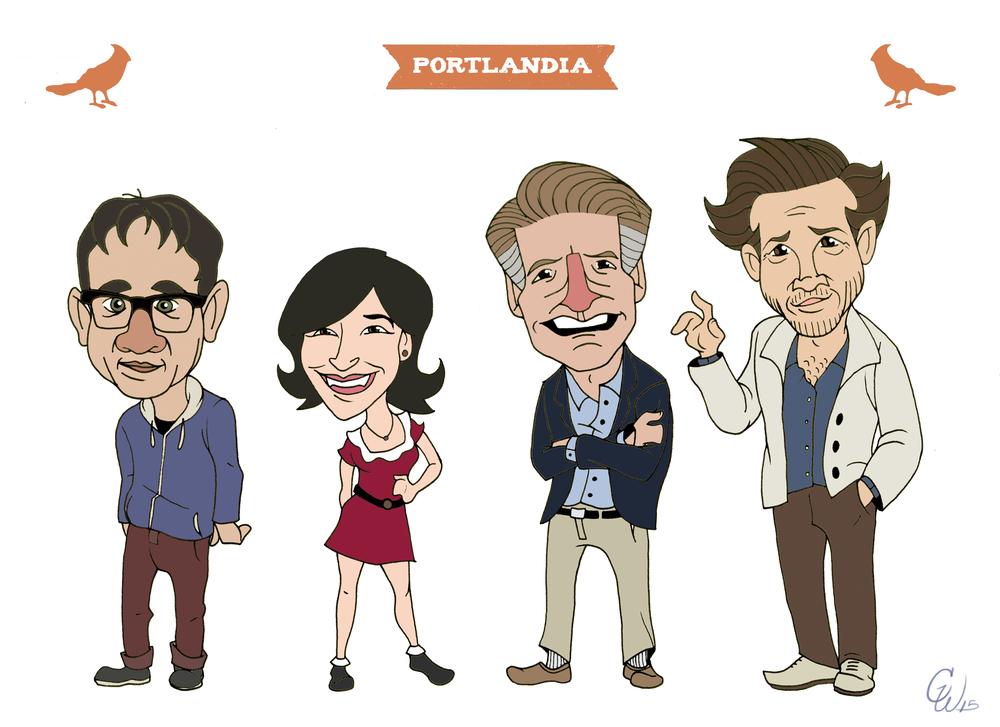 Portlandia Poster Design