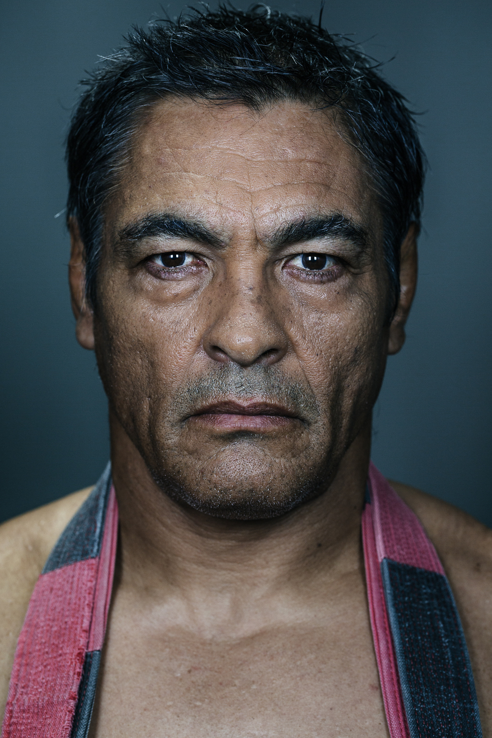 Rickson Gracie, Brazilian Jiu-Jitsu legend at his studio in Culver City. Photo by Flavio Scorsato