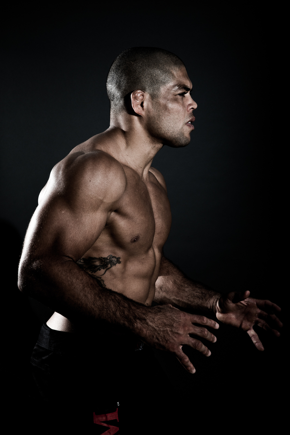 Andre Galvão Brazilian Jiu-Jitsu athlete and ADCC Champion for BJJ Style magazine. Photo by Flavio Scorsato