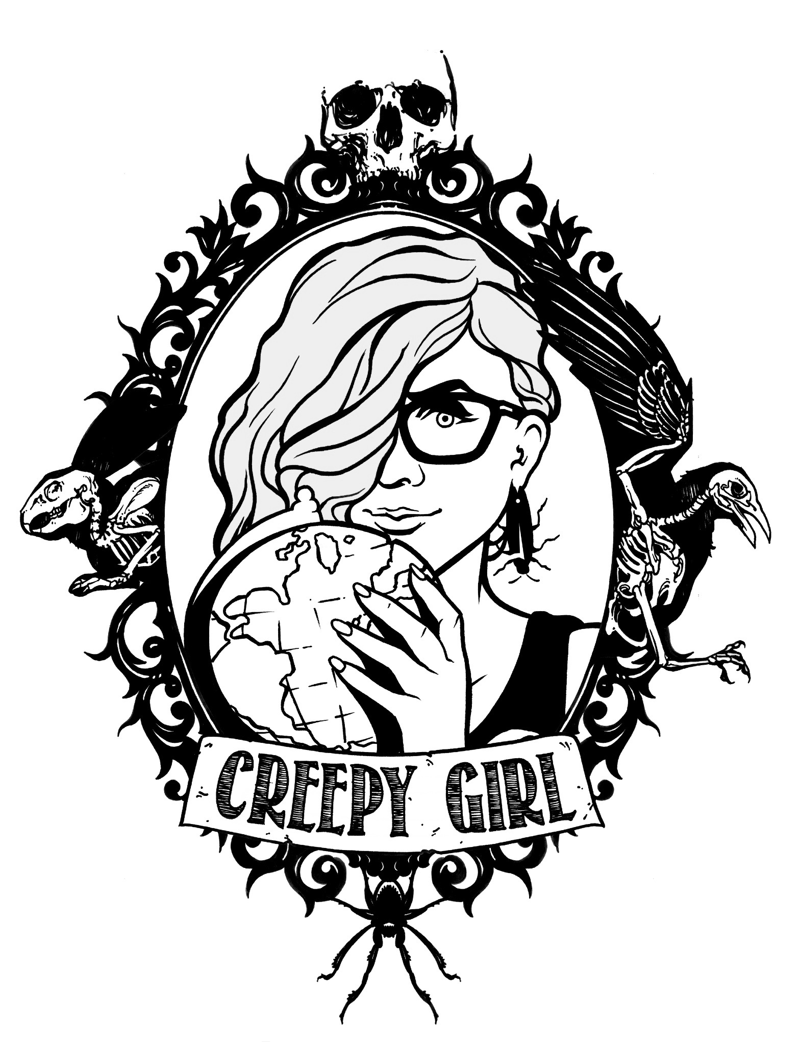CREEPY GIRL TRAVELS
