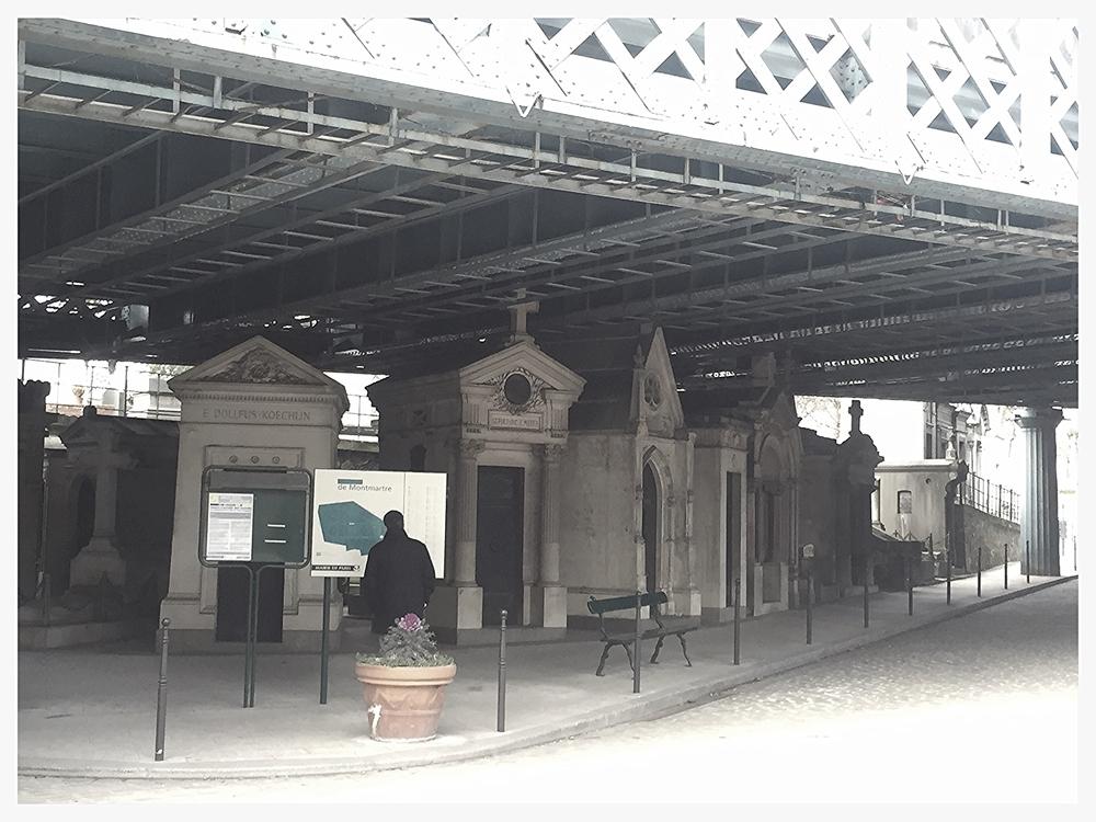 cemetery under the bridge