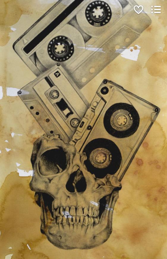 ETSY: Surrealism graphite work by Phil Spaulding