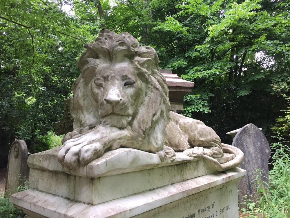 Frank Bostock's grave