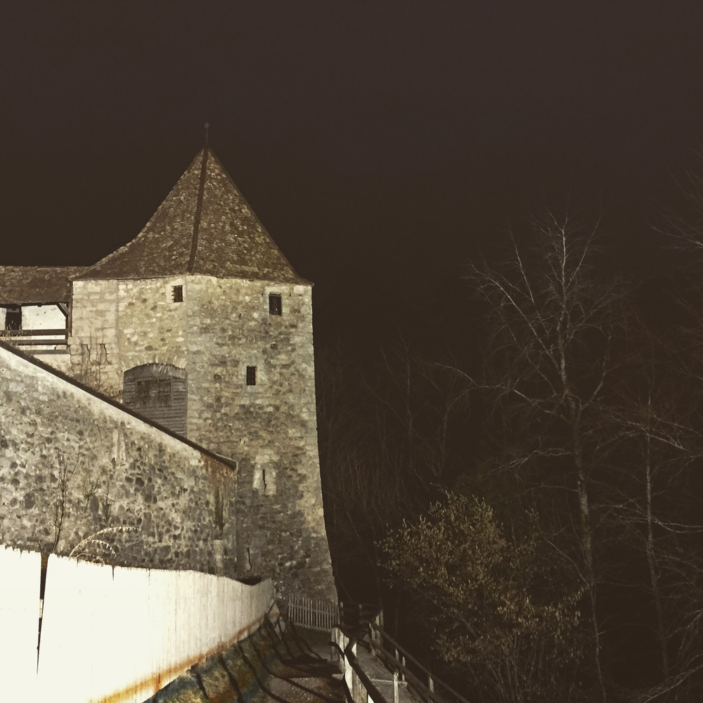 On a spooky side note, we saw someone walking back and forth at the top of this chateau. The next day I asked employees if there were people up there that night, they all said no. We found, some staff believe there are a few ghosts that live up there. People travel from all over to perform ghost hunts. AH!