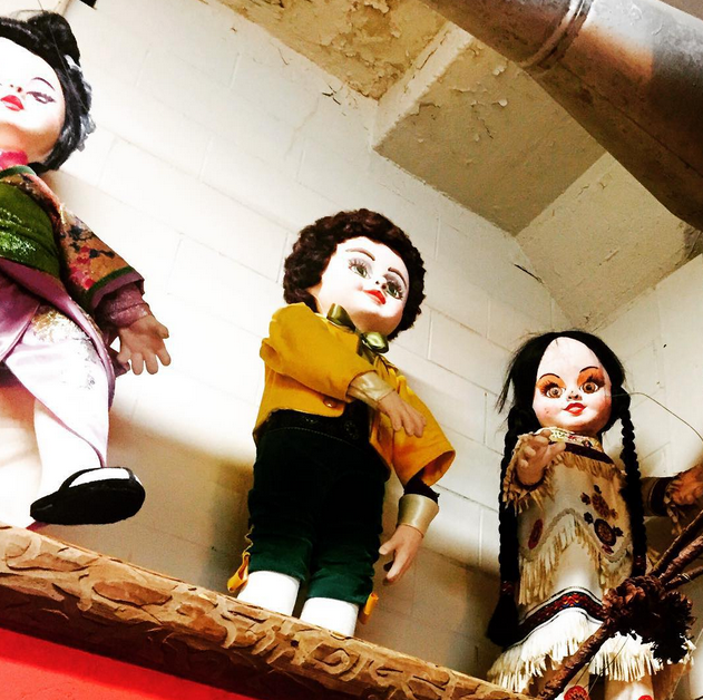 Creepy Doll Heads