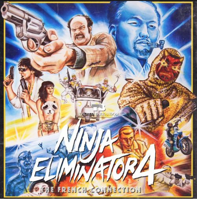 NINJA ELIMINATOR 4: THE FRENCH CONNECTION