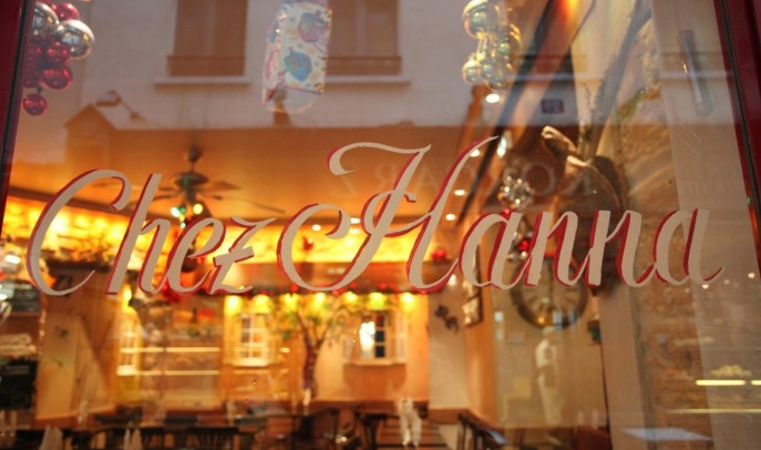 Image off the Official Chez H'anna website: http://www.chezhanna-restaurant.fr/