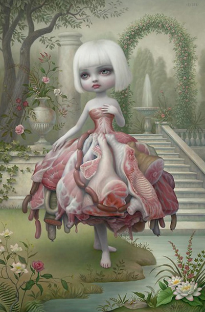 http://www.paulkasmingallery.com/artists/mark-ryden