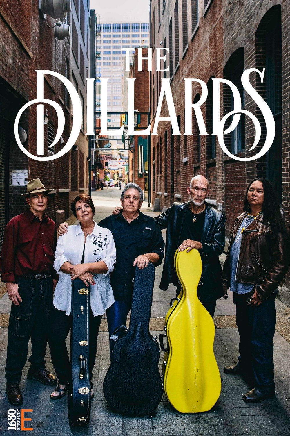 THE DILLARDS 2015  with their Manager/Executive Producer/Drummer, Ken Lingad - Photo:  John Brown Photography - Nashville