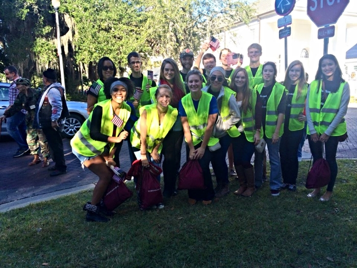 Habitat for Humanity at the Veteran's Day Parade 2014