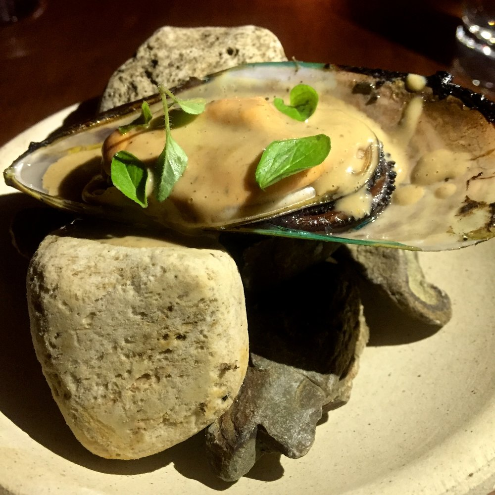Mussel with Kina butter