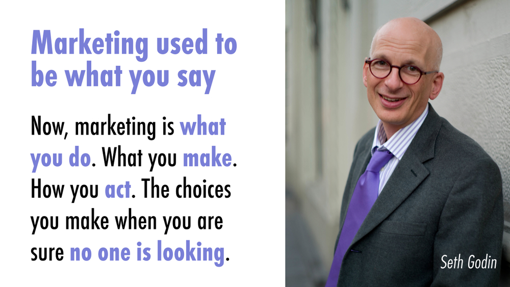 Photo of Seth Godin via WikiPedia ::Creative Commons license