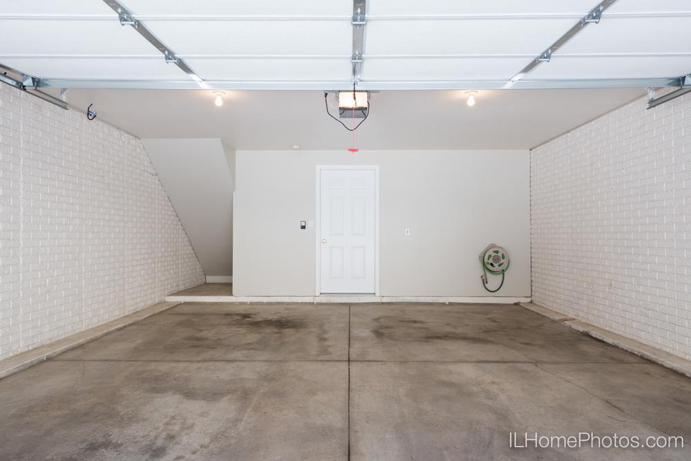 Garage interior photograph, Morton IL :: Illinois Home Photography by Michael Gowin, Lincoln, IL