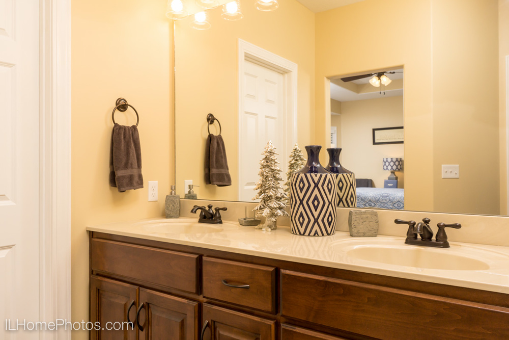 Interior master bathroom photograph, Tour of Homes :: Illinois Home Photography by Michael Gowin, Lincoln, IL