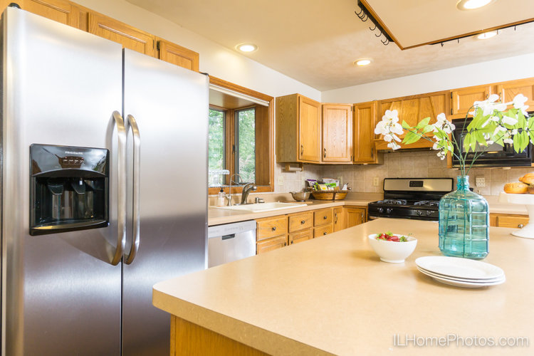 Interior Kitchen Photograph For Real Estate In Peoria IL Illinois Home Photography By