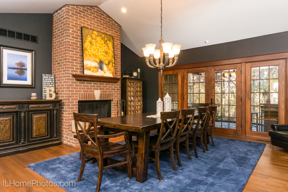 After - professional photograph of formal dining room