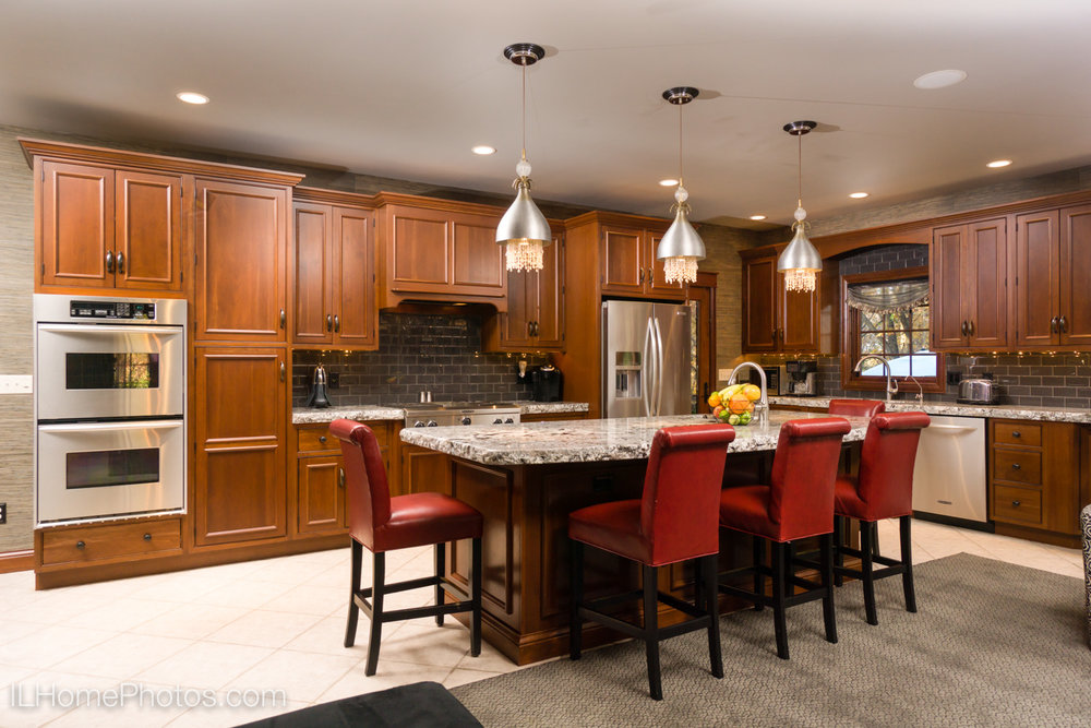 After - professional photograph of kitchen