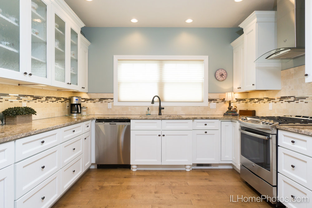 Interior kitchen photograph for real estate in Springfield, IL :: Illinois Home Photography by Michael Gowin, Lincoln, IL