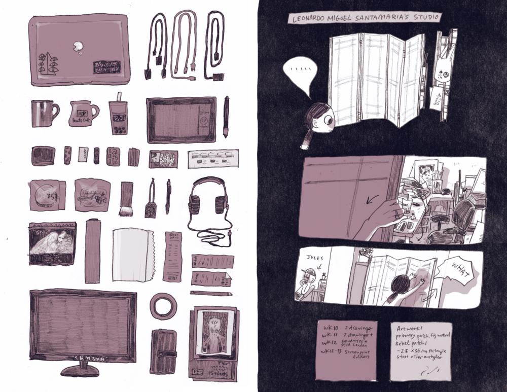 Leo's studio
