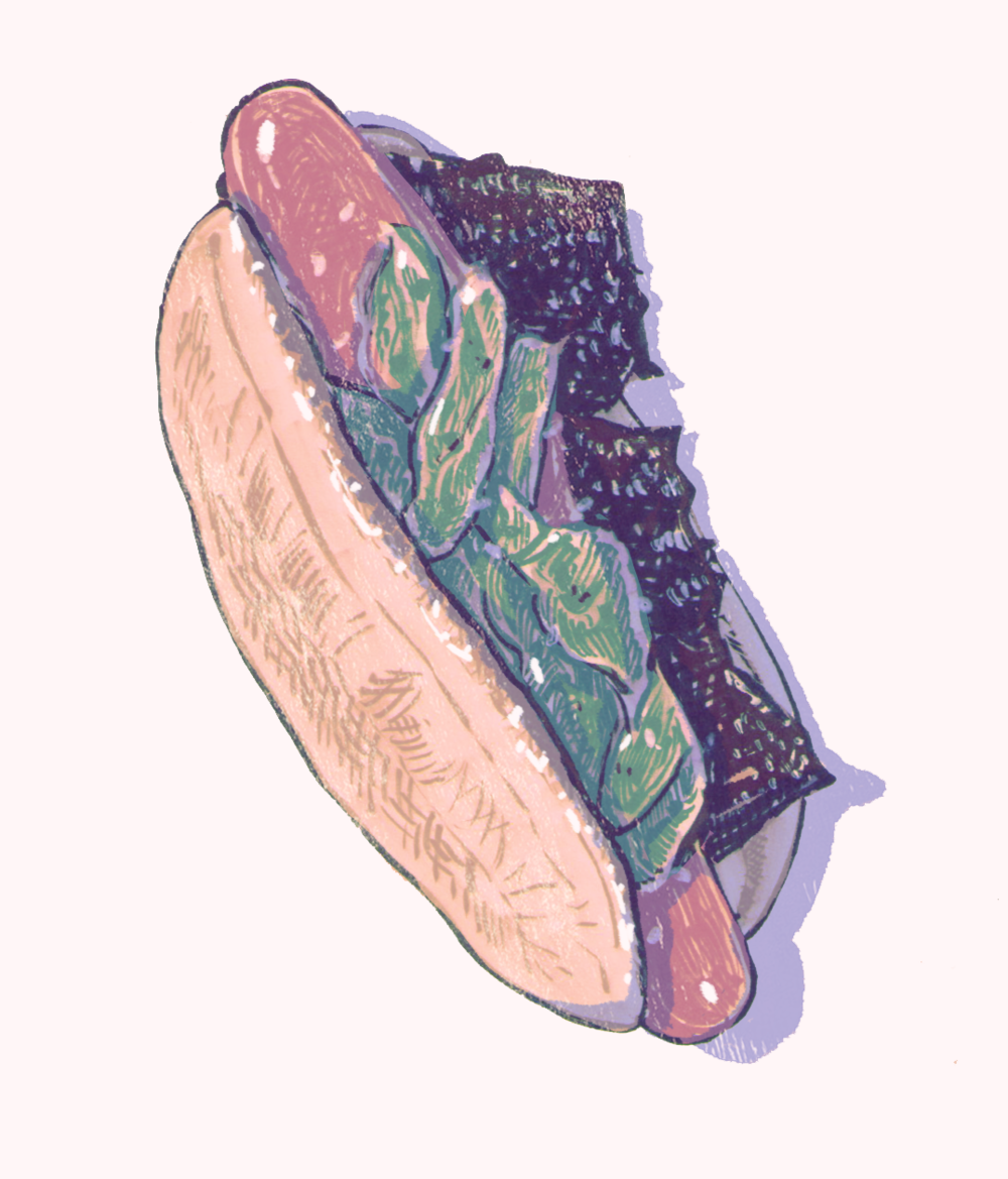 Shishito Hot Dog
