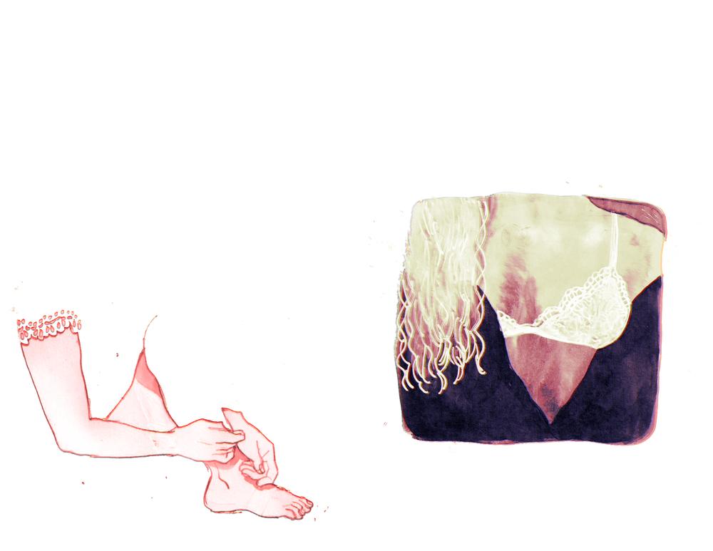 lace doodles