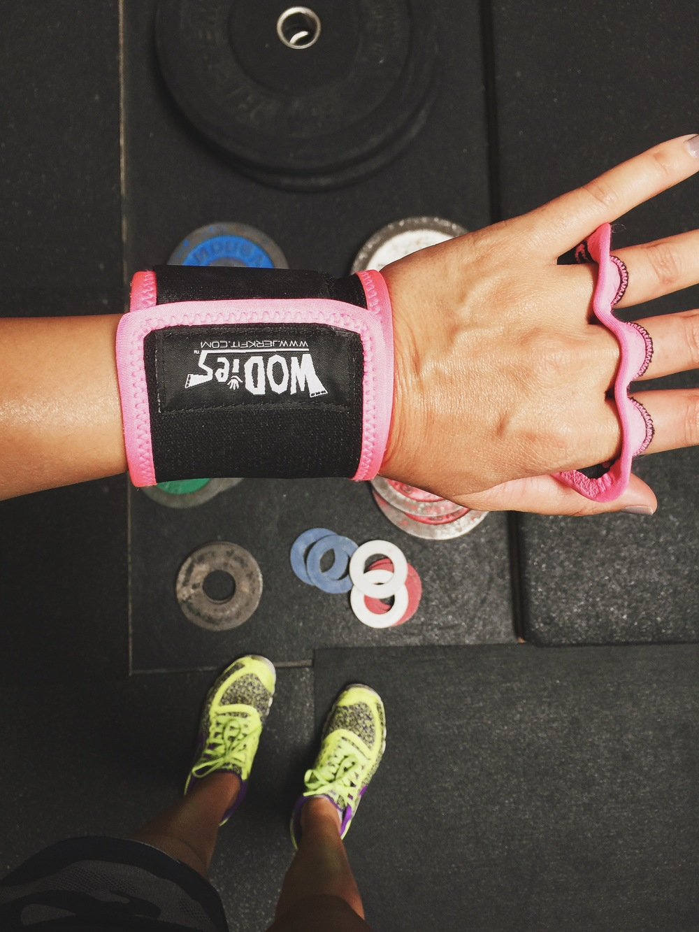 One big bonus. Crossfit gear is always available in pink.